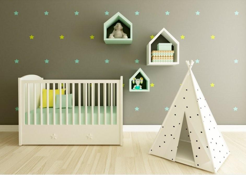 Babyzimmer Gestalten 50 Dekoideen Für Jungen  Mädchen von Babyzimmer Gestalten Kreative Ideen Bild
