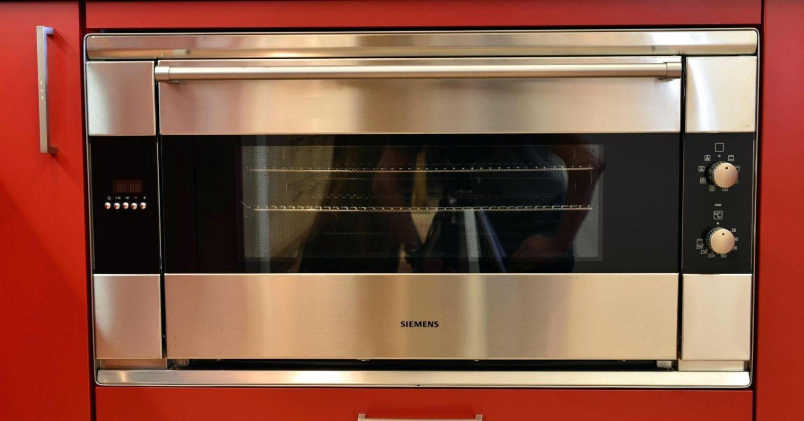 Backofen 90Cm Cm Backofen Lack Seidenmatt Granit Nero Angelo Bild von Backofen 90 Cm Breit Siemens Bild