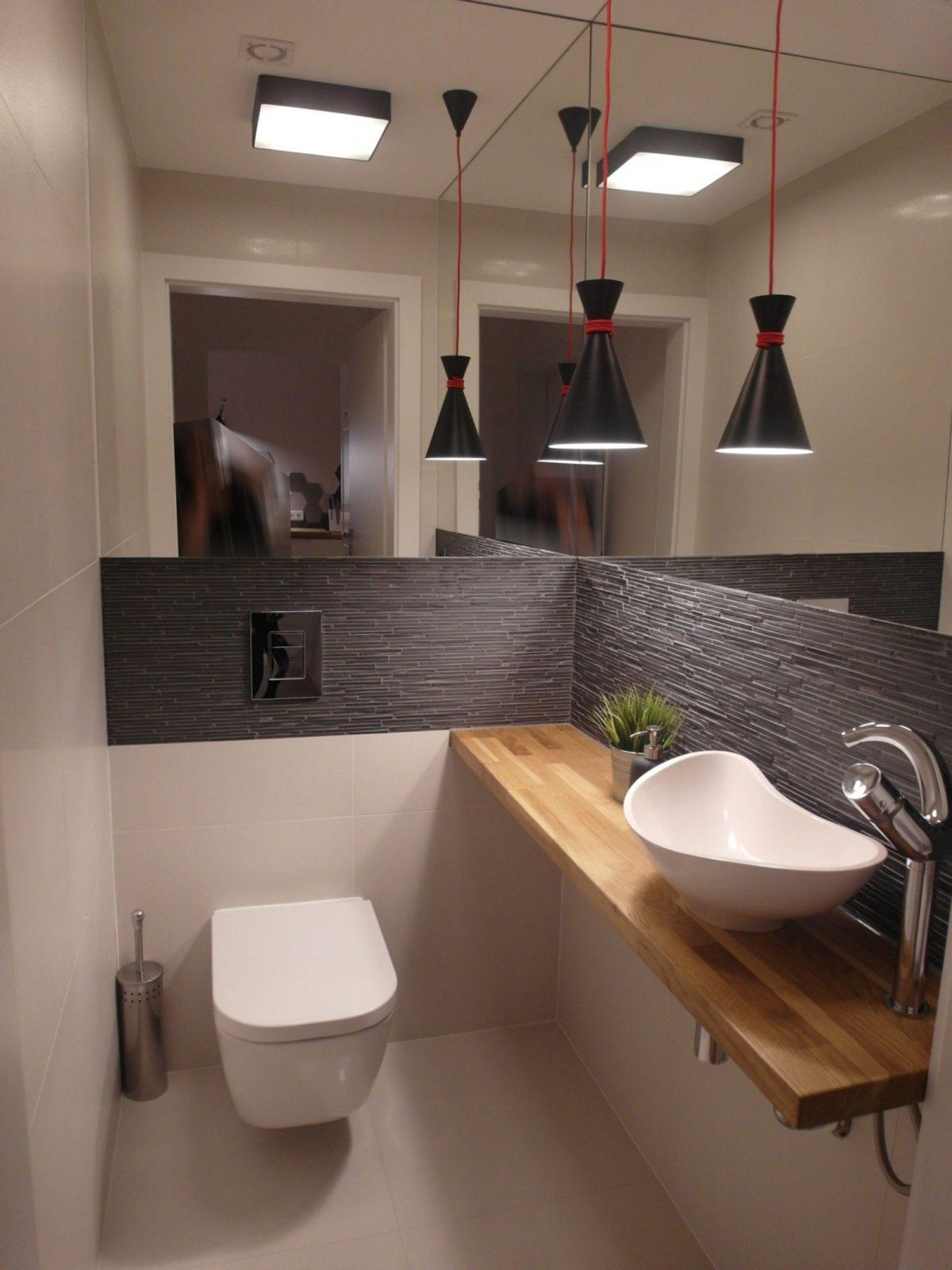 Bad Gäste Toilette Modern Wohnen Hausbau  Wohnenhausbaugarten von Gäste Wc Ideen Modern Photo