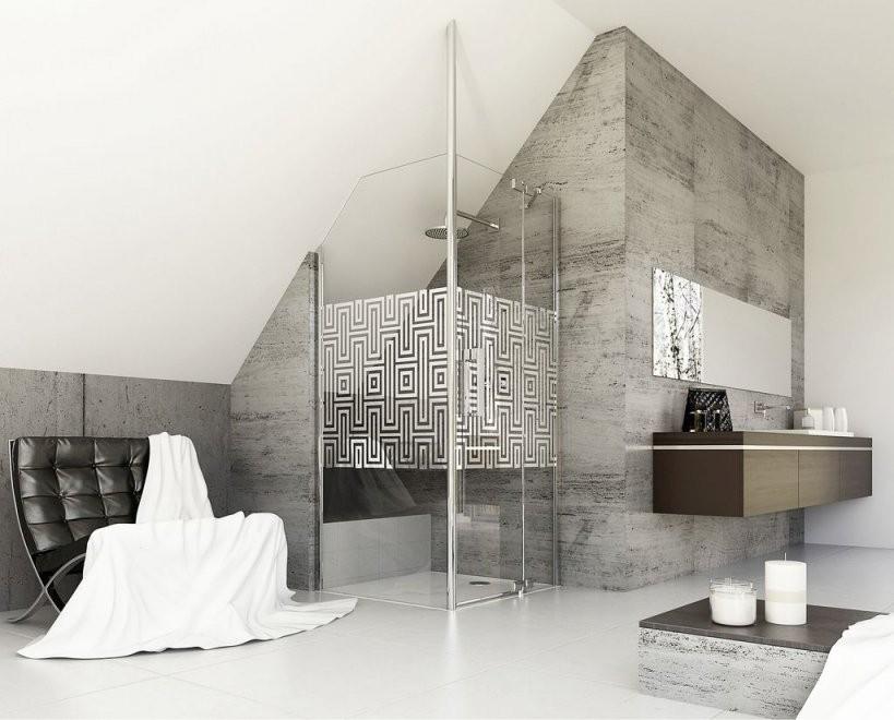 Bad Mit Dachschrägen  So Setzen Sie Ihre Planungswünsche Um  My von Bad Mit Dachschräge Planen Photo