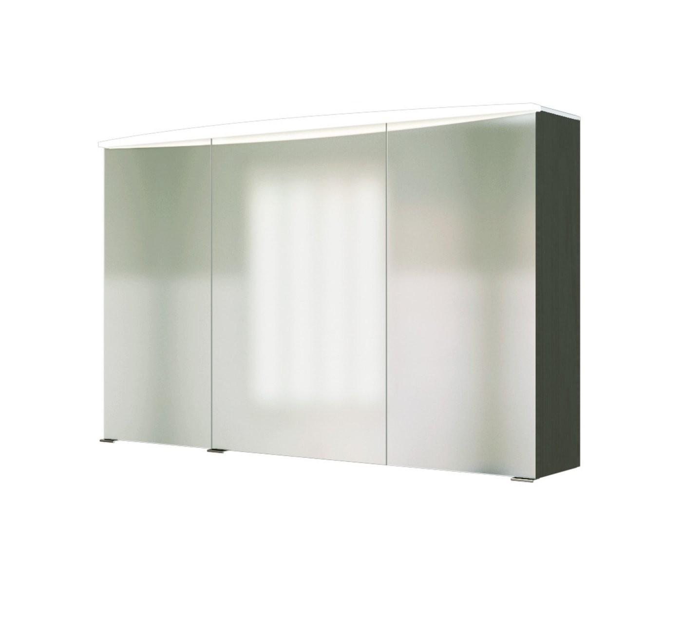 Bad Spiegelschrank  3Türig Mit Beleuchtung  100 Cm Breit von Bad Spiegelschrank 100 Cm Breit Photo