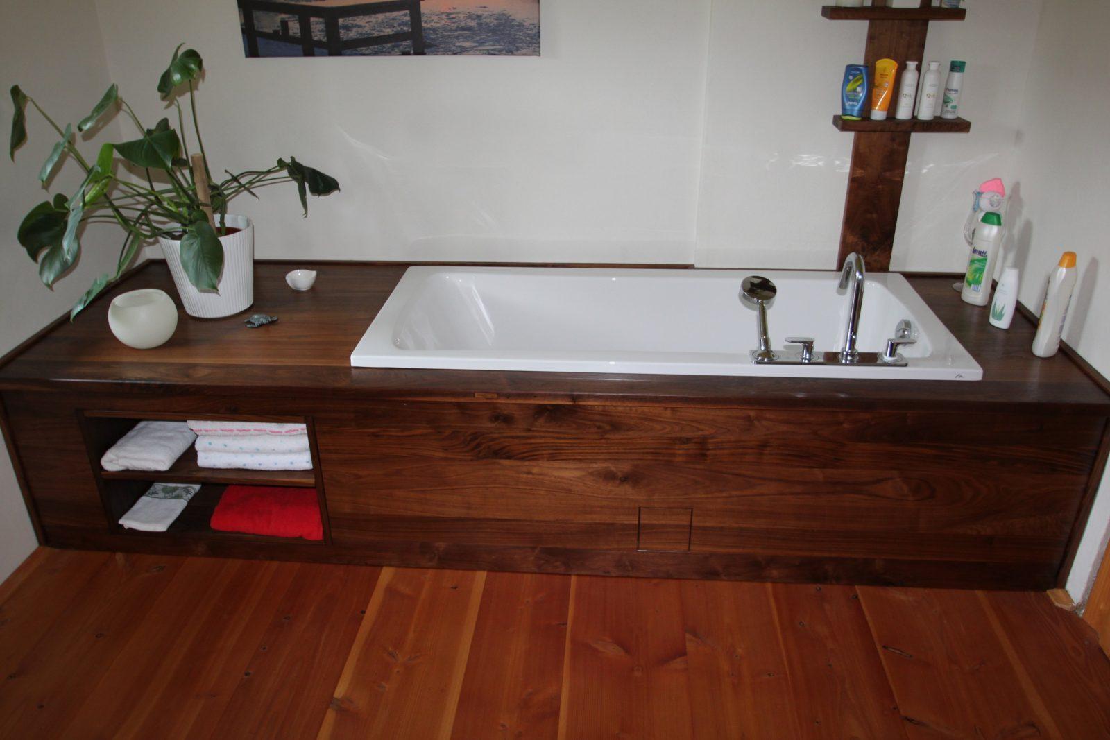Badewanne In Holz Einfassen – Wohndesign von Badewanne In Holz Einfassen Photo