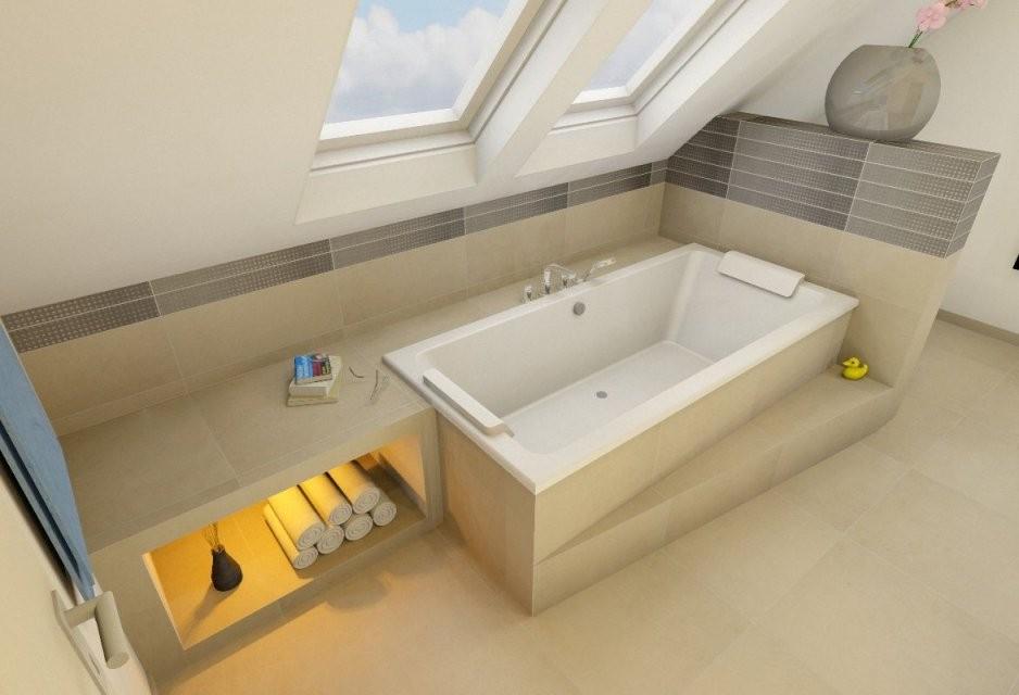 Badewanne Unter Dachschräge — Temobardz Home Blog von Bad ...