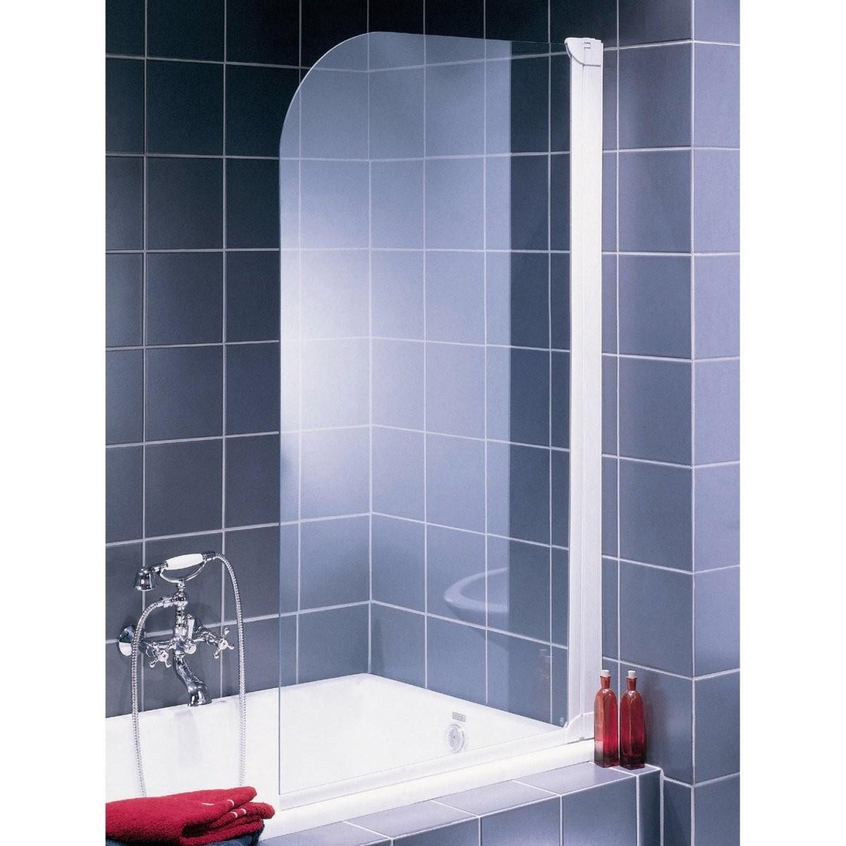 Badewannenaufsatz Online Kaufen Bei Obi von Duschwand Glas Für Badewanne Photo
