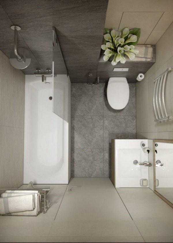 Badezimmer 4 Qm Ideen Möbel Sanitärlösungen Praktische von Badezimmer 4 Qm Ideen Bild