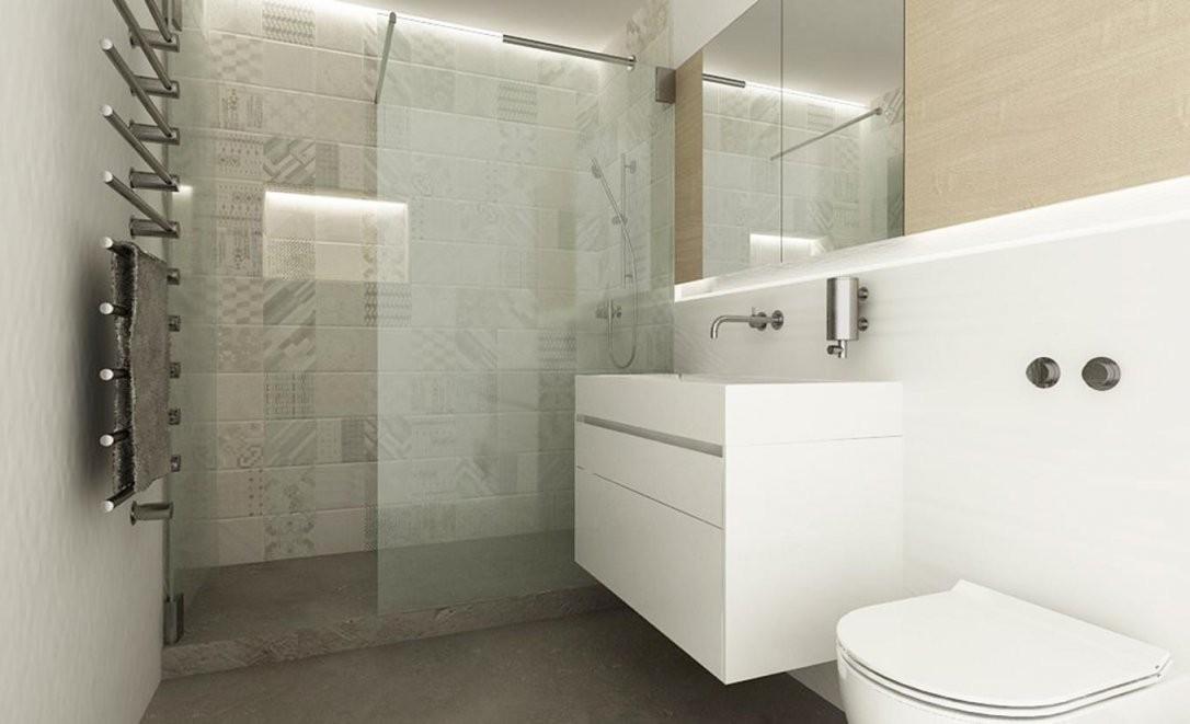 Badezimmer Auf Kleinem Raum Offenedusche ©Urbanroom von Badezimmer Auf Kleinem Raum Photo