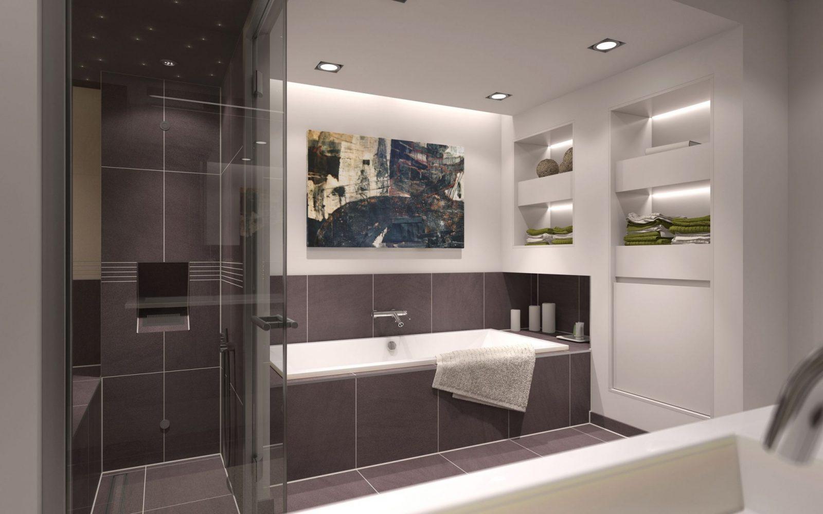 Badezimmer Beispiele 10 Qm  Beispielbilder Aus Unserer 3 D von Badezimmer Beispiele 10 Qm Bild