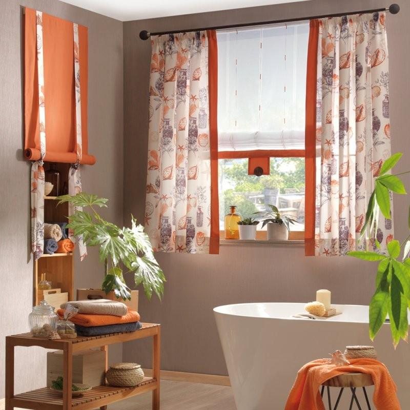Badezimmer Gardine  Gardinen  Vorhänge  Fenster  Produkte  Ttl von Gardine 180 Cm Hoch Bild
