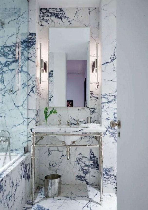 Badezimmer Schwarzweißbadezimmer In 24 Dekoideen Schwarzweiß von Deko Ideen Schwarz Weiß Bild