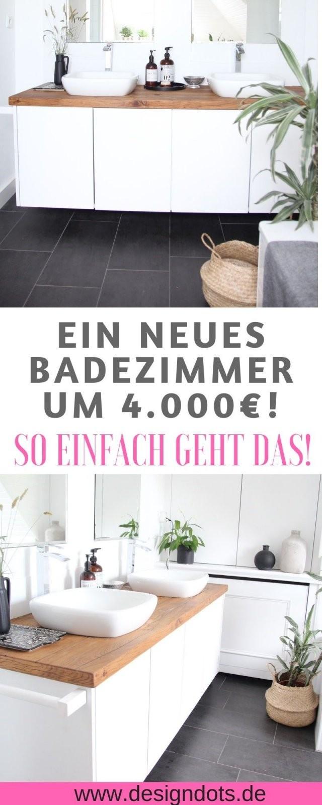 Badezimmer Selbst Renovieren Vorhernachher  Bad Ideen Deko von Bad Selber Renovieren Kosten Photo