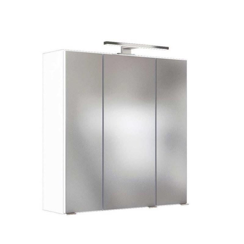 Badezimmer Spiegelschrank Varison Mit Led Beleuchtung 3 Türig von Bad Spiegelschrank Led Leuchte Photo