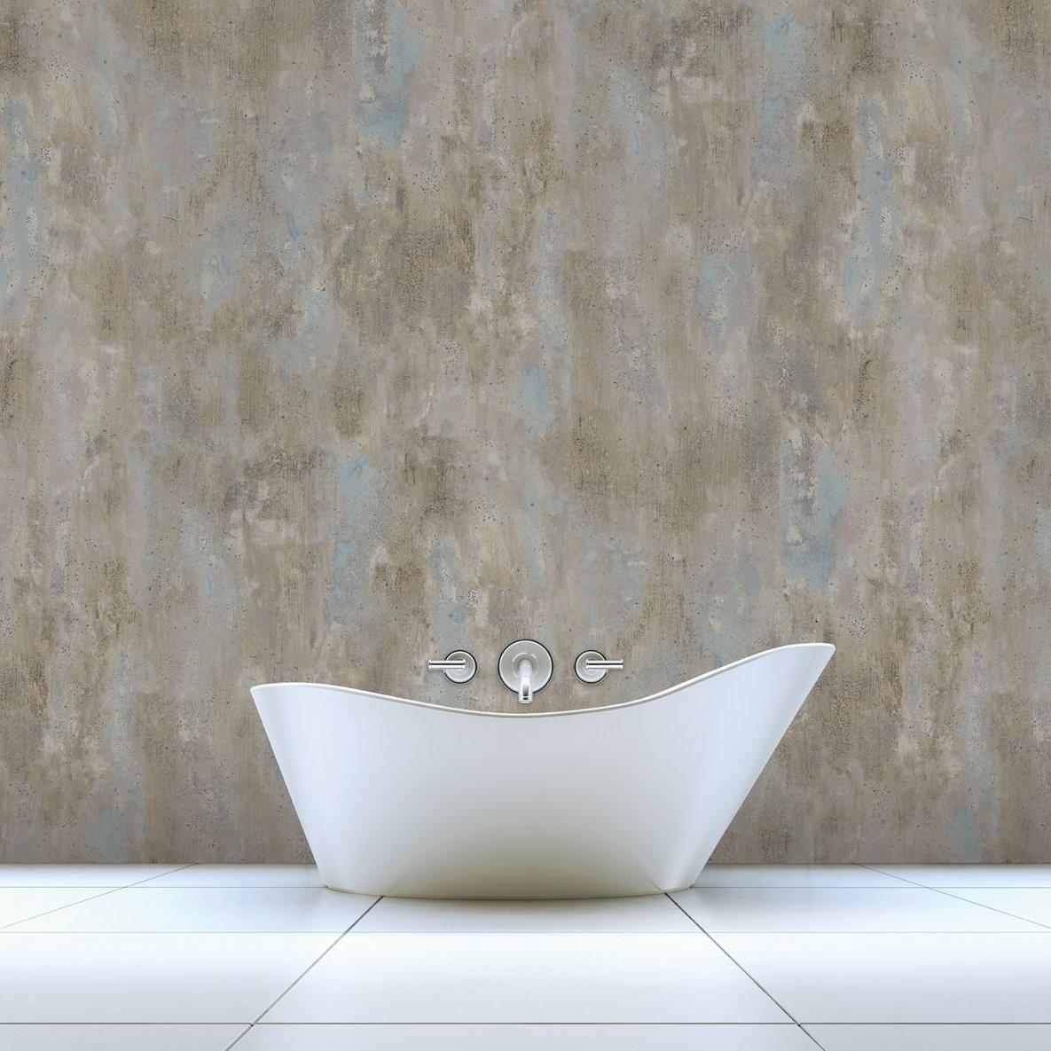 Badezimmer Tapeten  Der Tapetentrend Fürs Bad >> Raumkult24 von Wasserfeste Tapete Fürs Bad Bild