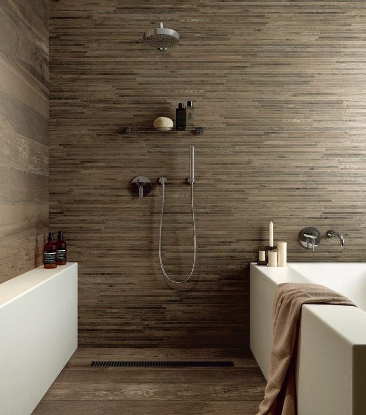 Badideen Für Traumbäder  Ideen Für Die Badgestaltung von Fliesen In Steinoptik Für Dusche Bild