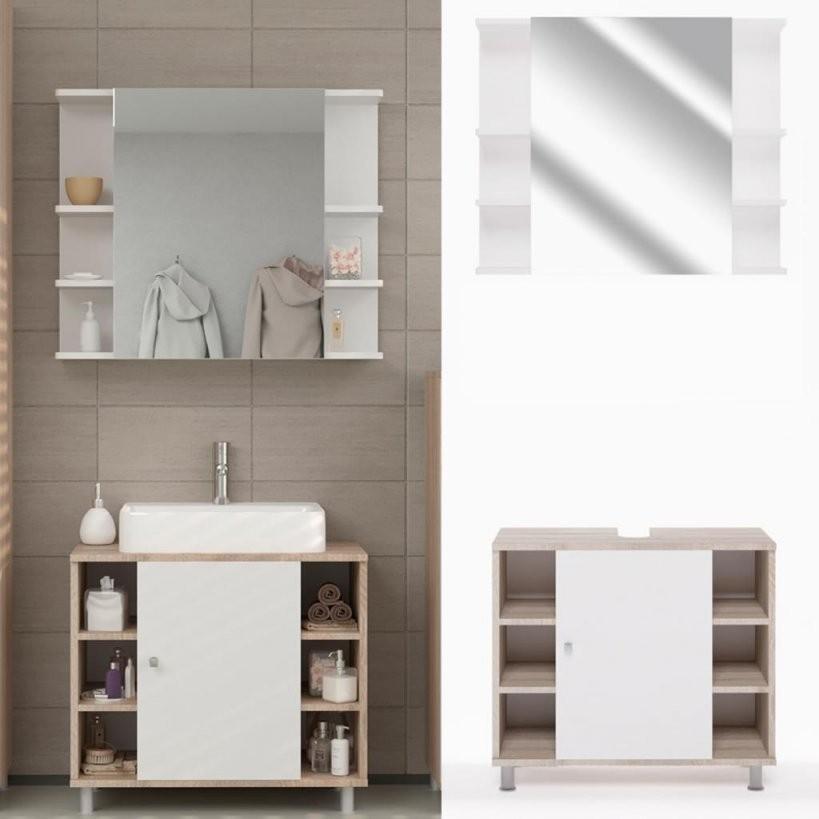 Badmöbel Günstig Online Kaufen  Real von Waschtisch Schale Mit Unterschrank Bild