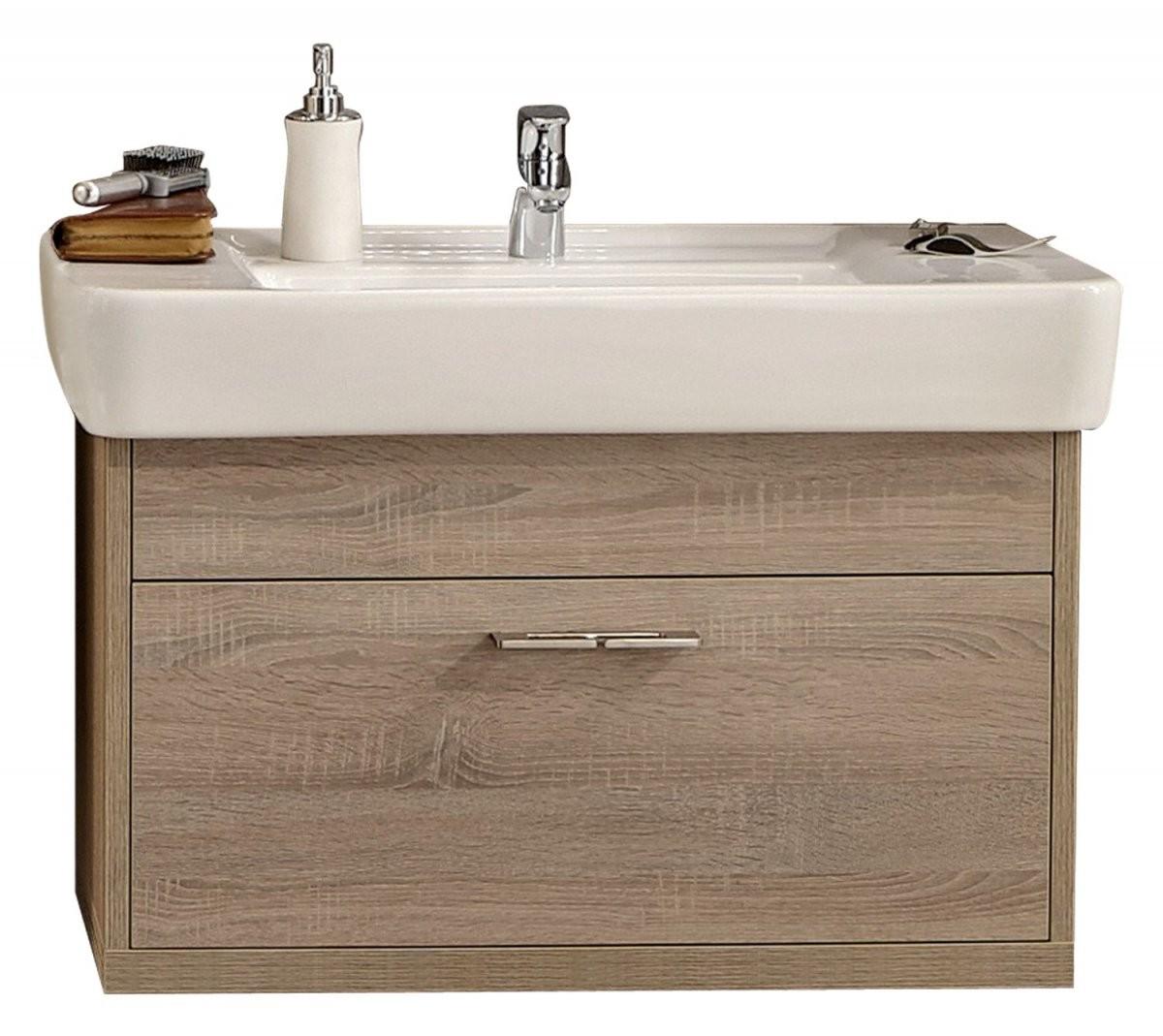 Badmöbel Serie Timbery Waschtischunterschrank Amelie In Schloß von Waschbecken Beige Mit Unterschrank Bild