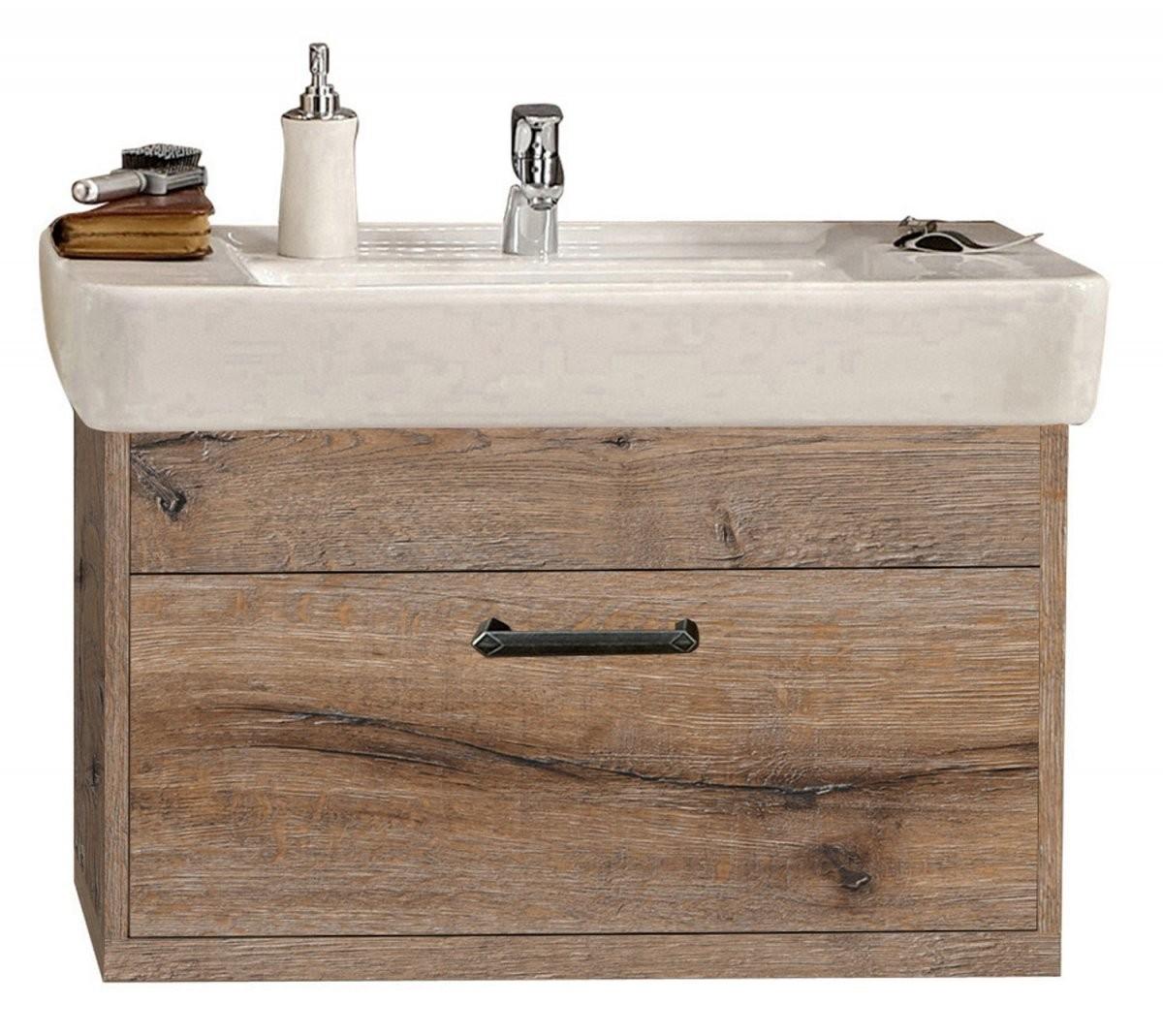 Badmöbel Serie Timbery Waschtischunterschrank Amelie In Schloß von Waschbecken Beige Mit Unterschrank Photo