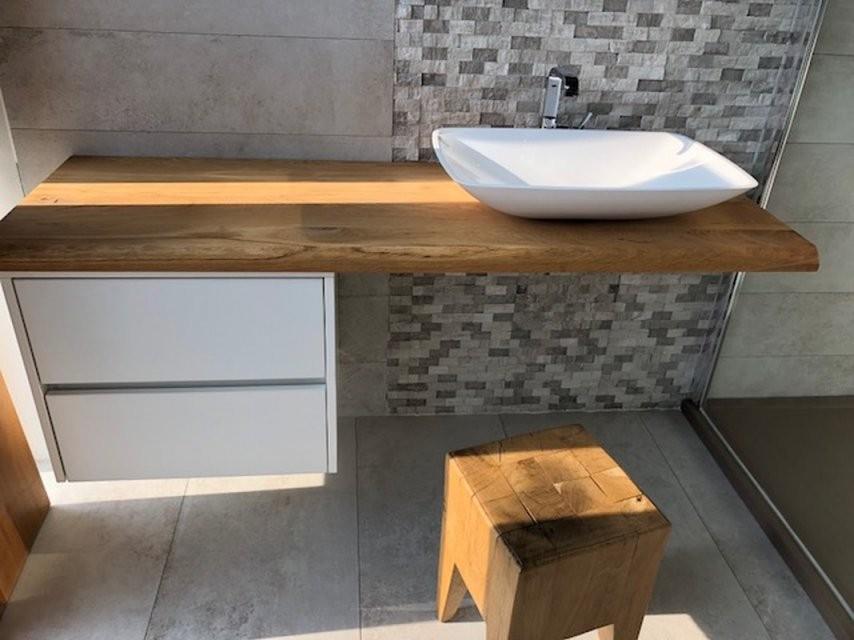 """Badmöbel """"stilon"""" Waschtischunterplatte Mit Unterschrank In Verschied von Waschbecken Aufsatz Mit Unterschrank Photo"""