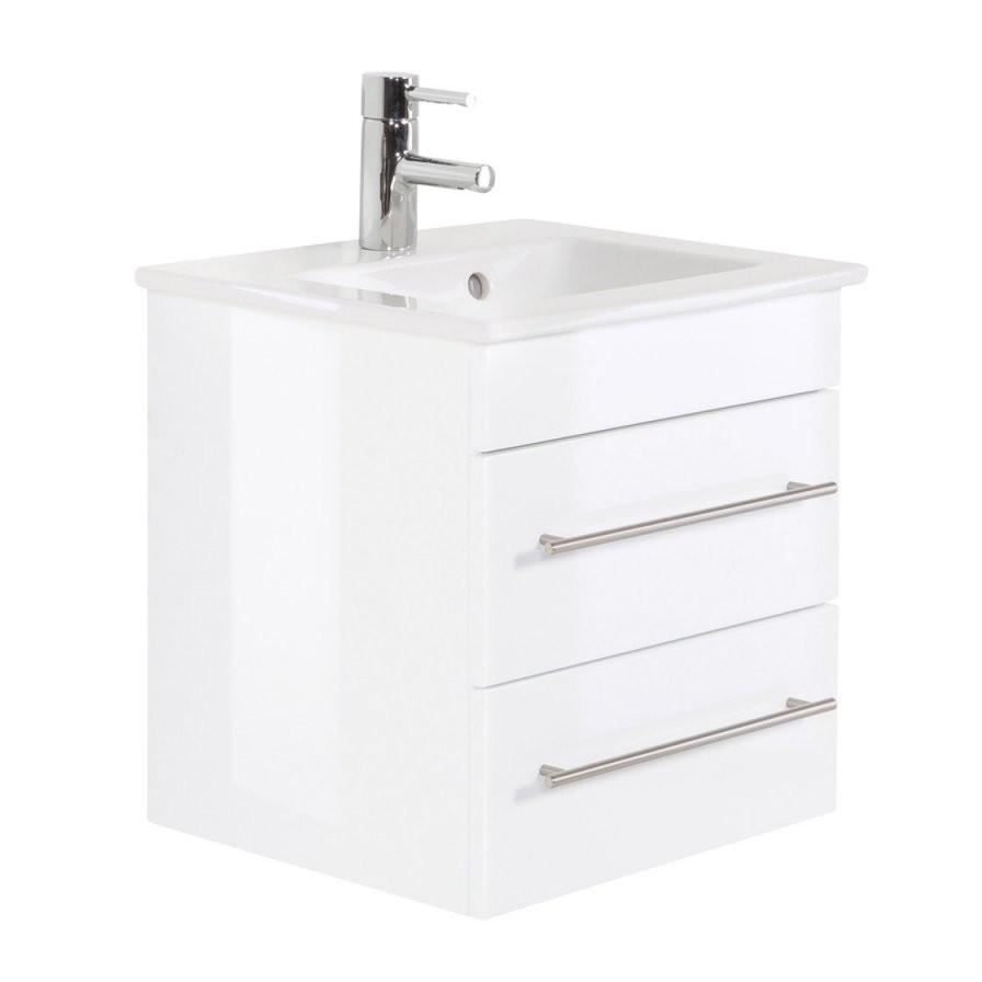 Badmöbel Villeroyboch Waschplatz Waschbecken Venticello 50Cm Mit von Waschbecken Mit Unterschrank 50 Cm Bild
