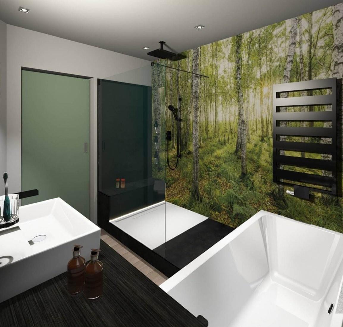 Badsanierung Kosten Komplett Nicht Mehr Weit Zum Traumbad von Bad Ohne Fliesen Kosten Bild