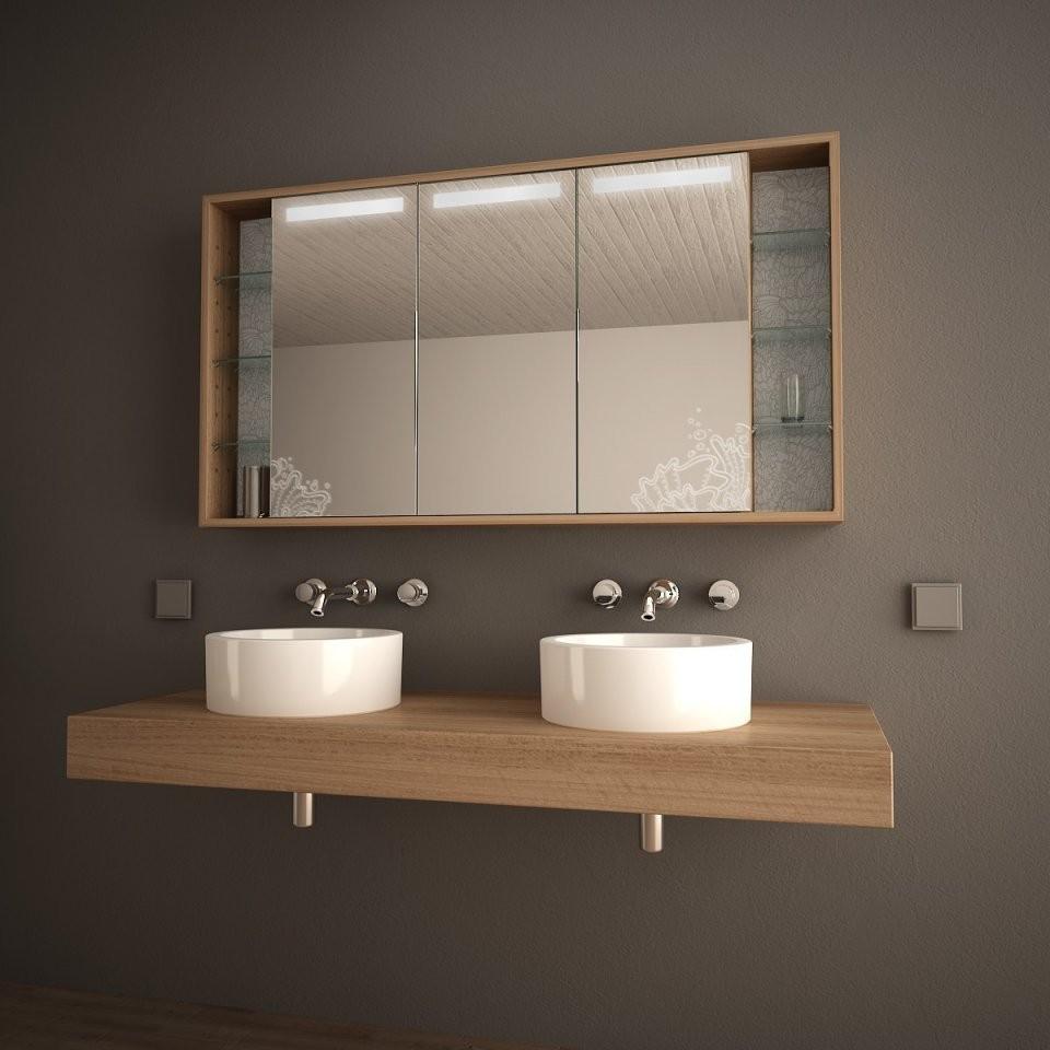 Badspiegelschrank Mit Licht Arida 989705252 von Bad Spiegelschrank Mit Beleuchtung Günstig Bild