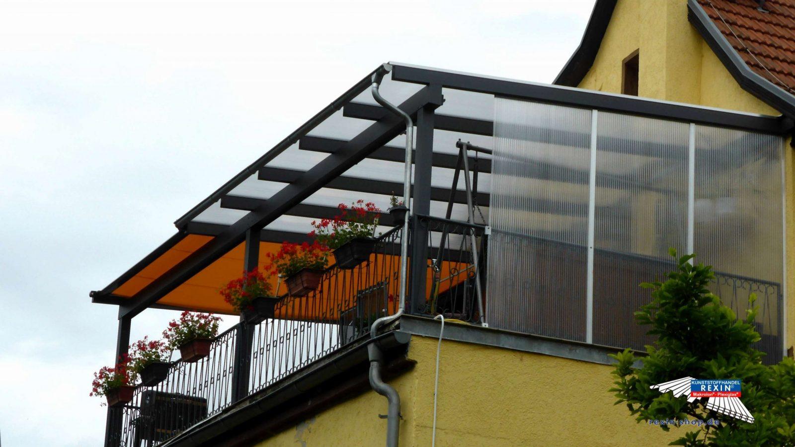 Balkon Rollo Ohne Bohren Schön Plexiglas Sichtschutz Balkon Design von Windschutz Für Balkon Ohne Bohren Photo