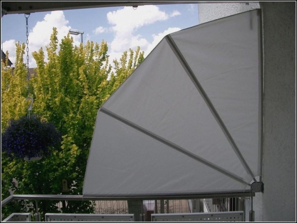 Balkon Sichtschutz Fächer Ohne Bohren  Dekorieren Bei Das Haus von Balkon Sichtschutz Fächer Ohne Bohren Bild