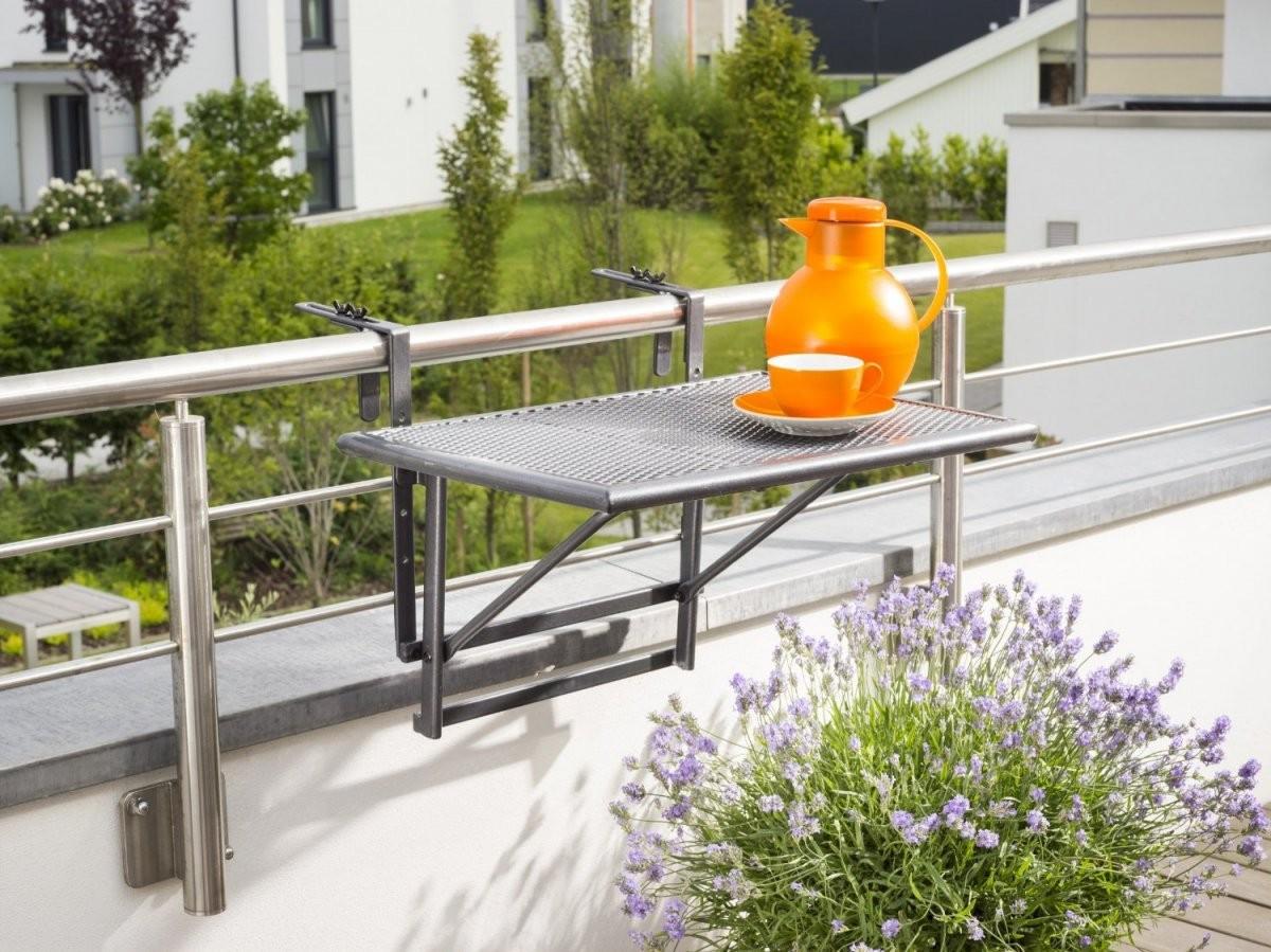 Balkonmöbel Für Kleinen Balkon  Tipps Für Kleine Balkone von Tisch Für Kleinen Balkon Photo