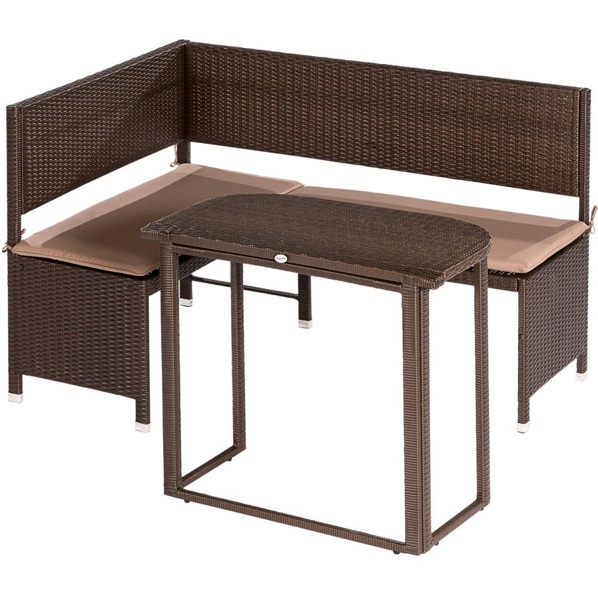 Balkonmöbel Online Kaufen Bei Obi  Obi von Balkon Eckbank Mit Tisch Bild