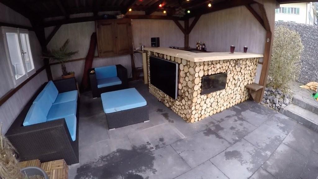 Bar Selber Bauen Aus Holz  Youtube von Theke Selber Bauen Holz Photo