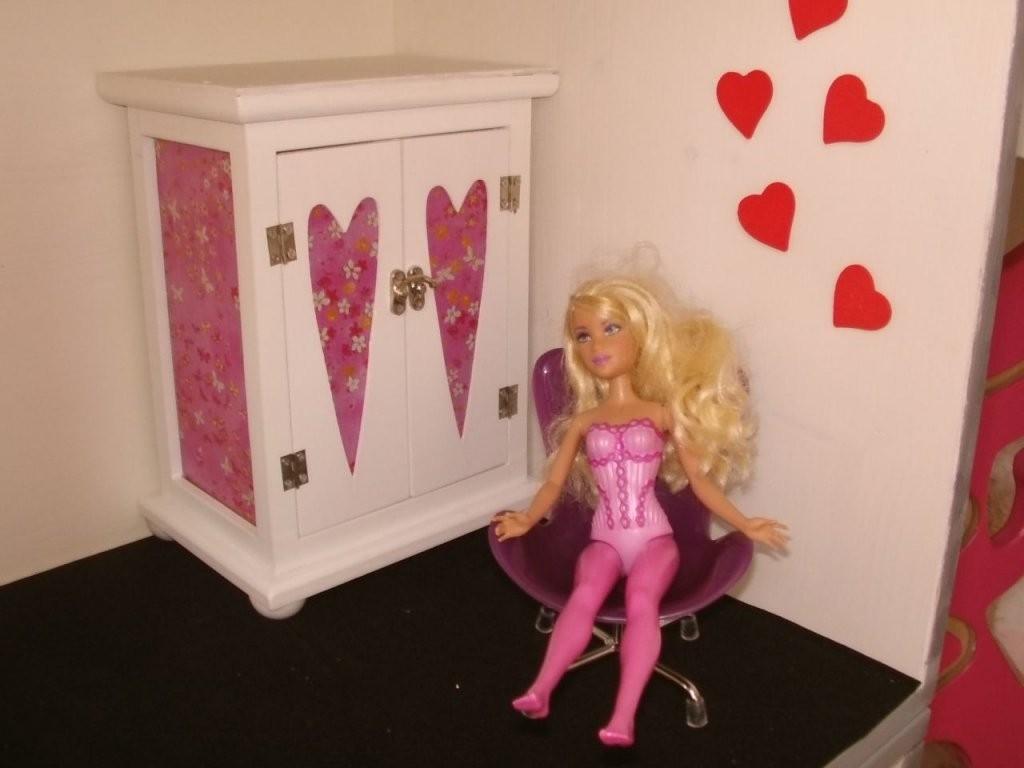 Barbiepuppenspielturm Bauanleitung Zum Selberbauen 12Do Barbie Bett von Barbie Bett Selber Bauen Bild