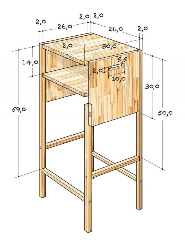 Barhocker Selber Bauen von Barhocker Holz Selber Bauen Photo