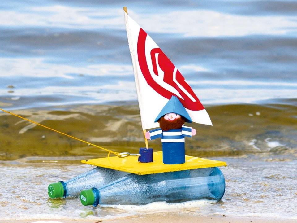 Basteln Mit Kindern  Kostenlose Bastelvorlage Basteln Rund Ums von Boote Basteln Mit Kindern Photo