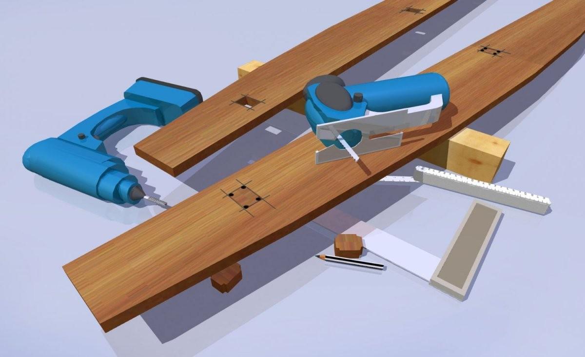 Bauanleitung Eine Schaukelliege Für Ihren Garten  Mein Eigenheim von Schaukelliege Holz Selber Bauen Bild