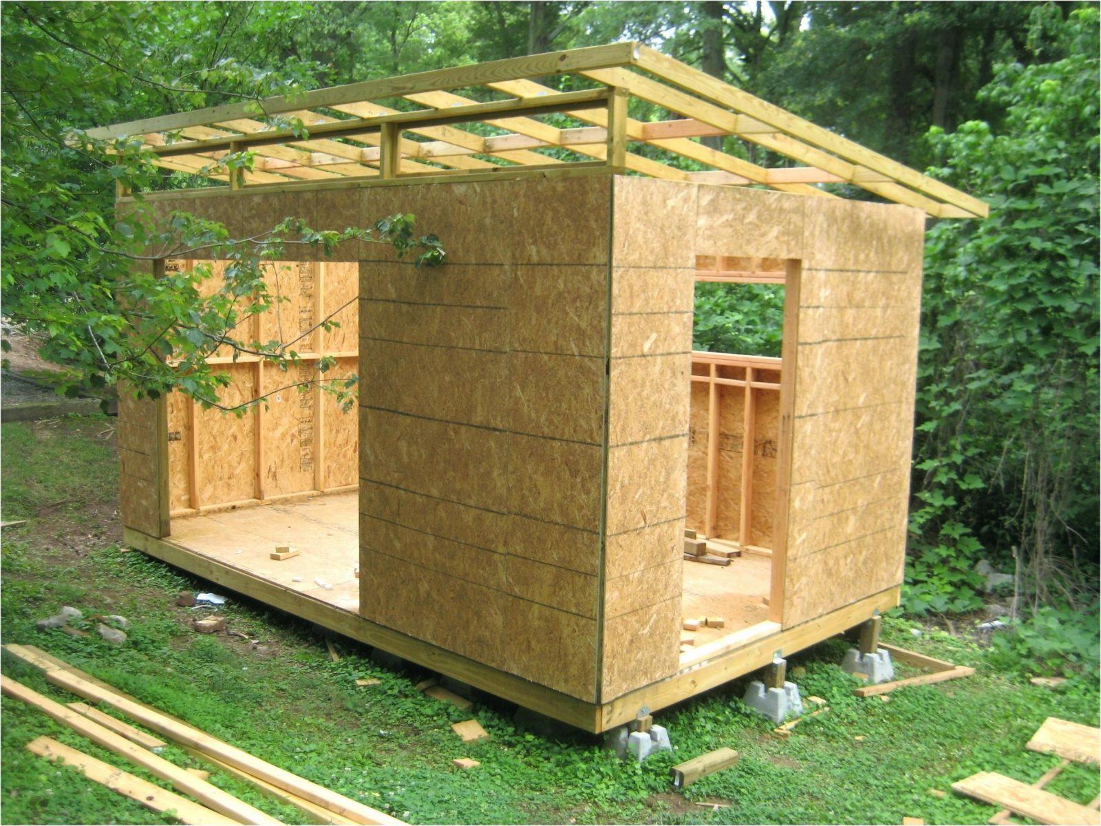 Bauanleitung Gartenhaus Terrassena Berdachung Genial Karibu Selber von Pultdach Garage Selber Bauen Photo