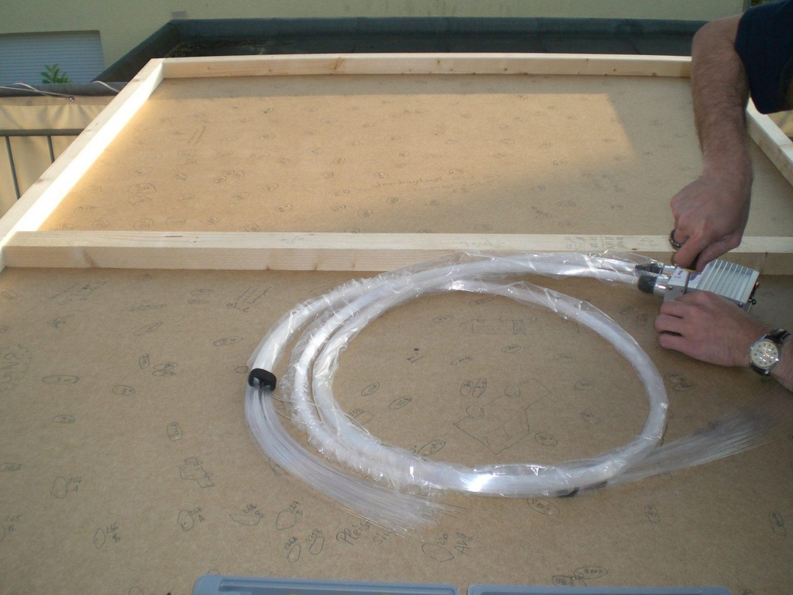 Bauanleitung Ledsternenhimmel  Karsten Reineck von Led Deckenlampe Selber Bauen Bild