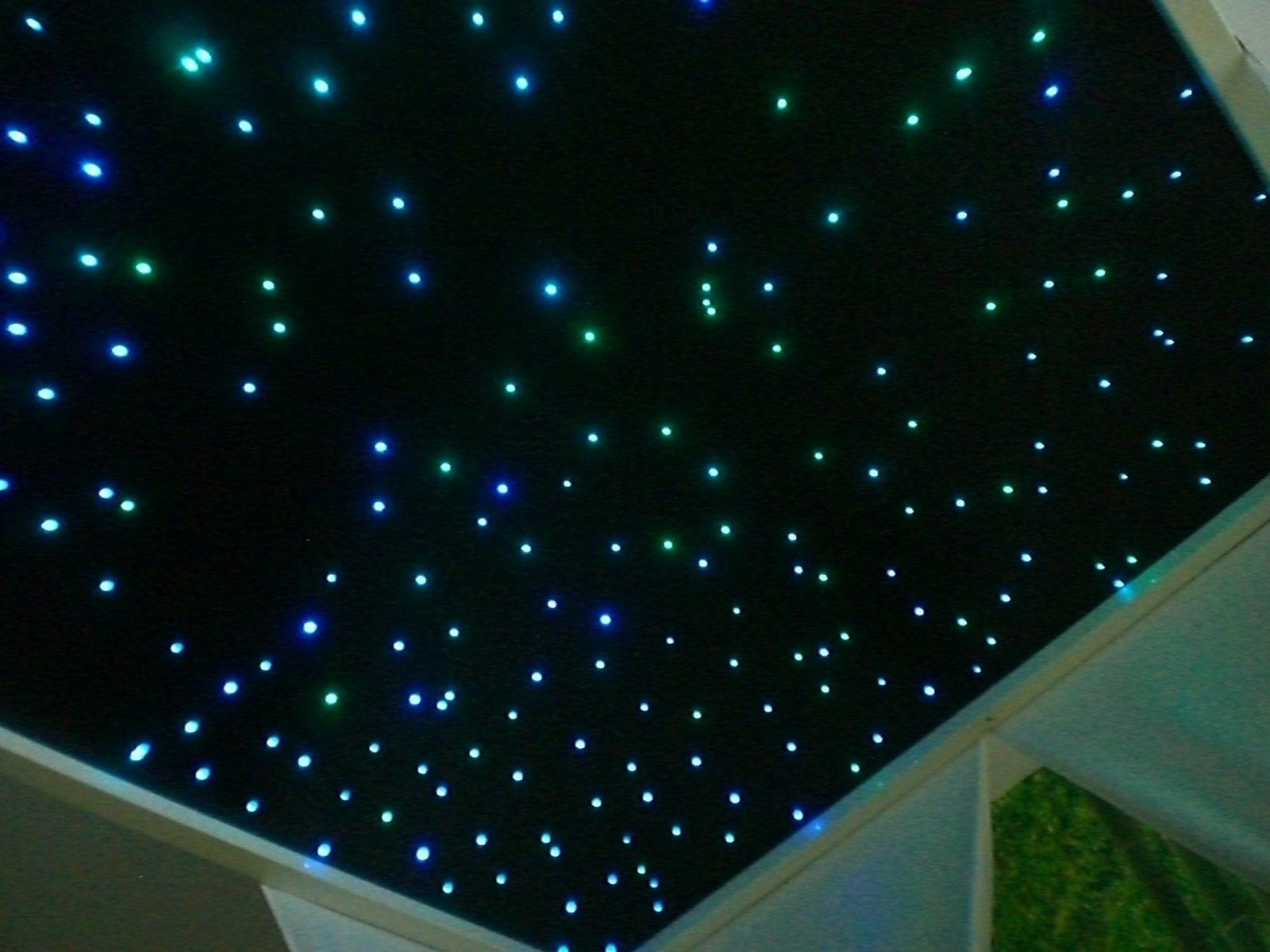 Bauanleitung Ledsternenhimmel  Karsten Reineck von Sternenhimmel Lampe Selber Bauen Bild