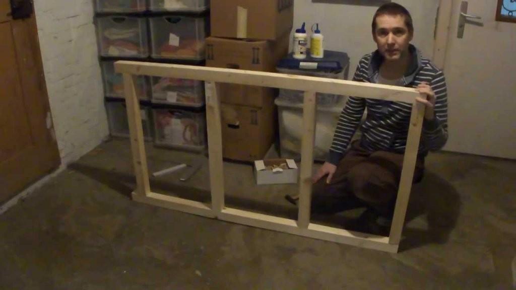 Bauanleitung Schwerlastregal  Youtube von Holzregal Keller Selber Bauen Bild