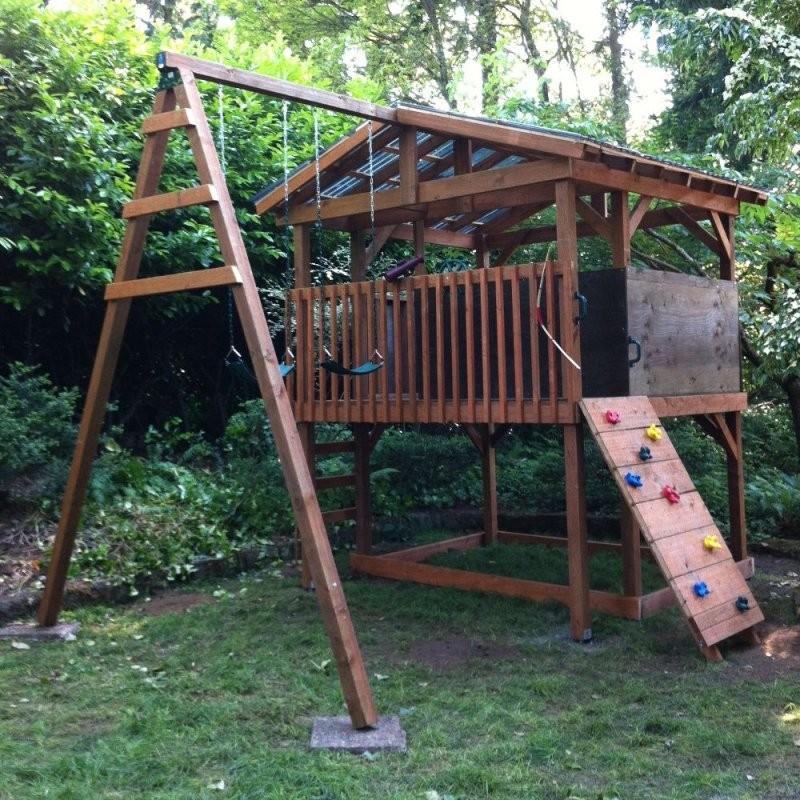 Bauanleitungen Für Klettergerüste Im Garten Spielturm Und von Spielgeräte Garten Selber Bauen Photo