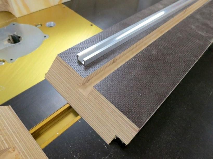 Baudokumentation Frästisch  Teil 2  Holz Und Leim von Frästisch Für Oberfräse Selber Bauen Bild