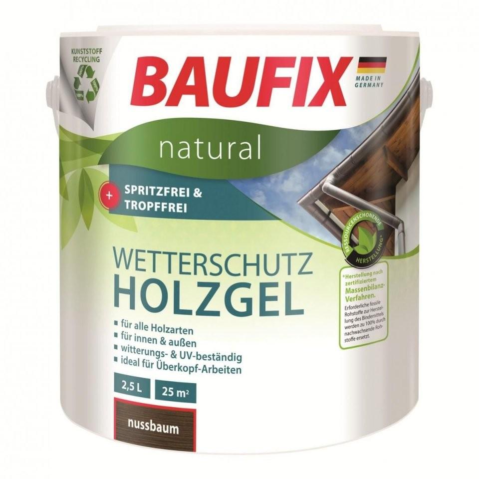 Baufix Natural Wetterschutzholzgel Palisander  Norma24 von Baufix Wetterschutz Holzgel Palisander Photo