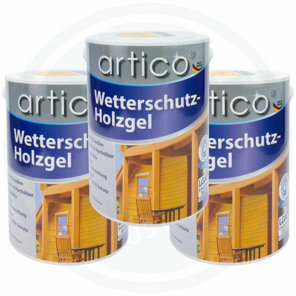 Baufix Wetterschutz Holzgel Kiefer Nussbaum Teak Eiche Hell von Baufix Wetterschutz Holzgel Palisander Photo