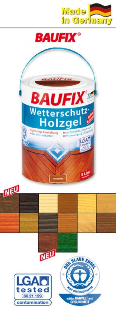 Baufix Wetterschutzholzgel Von Norma Ansehen  Discounto von Baufix Wetterschutz Holzgel Palisander Photo