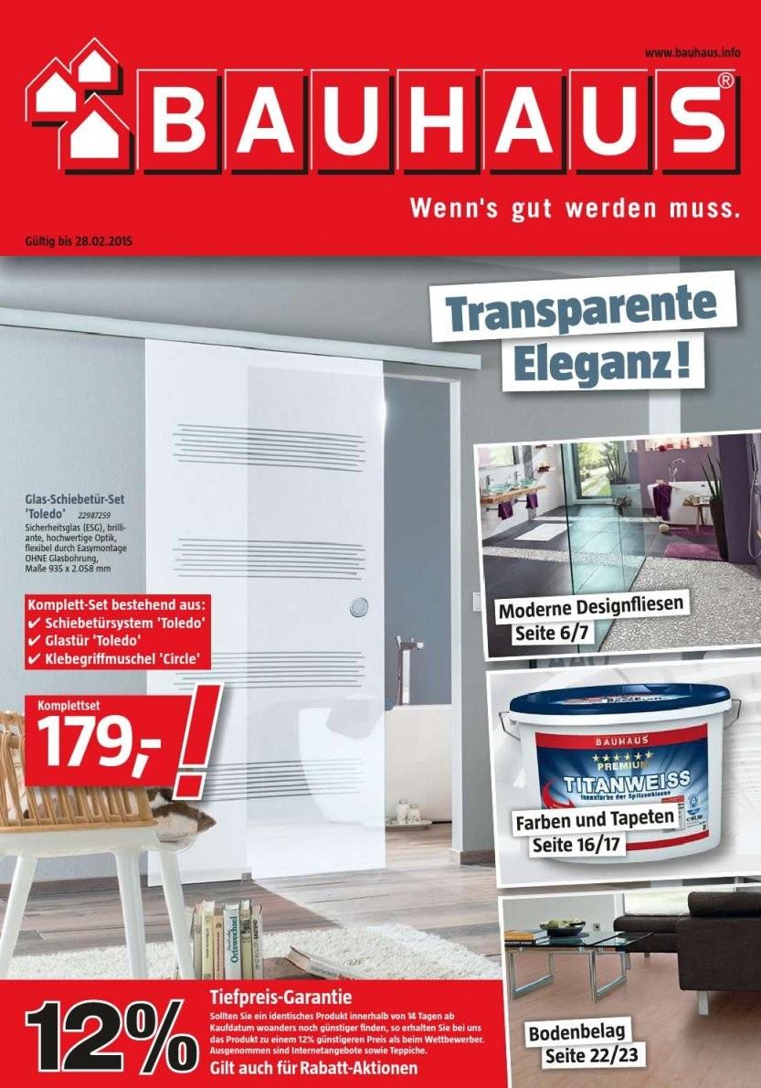 Bauhaus Angebote 2 28Februar2015Promoprospekte  Issuu von Glastür Mit Zarge Bauhaus Photo