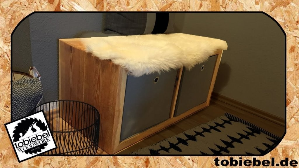 Bauholz Möbel Selber Bauen⎮Sitzbank⎮Bank Regal Ikea Kallax Expedit von Möbel Aus Bauholz Selber Bauen Bild