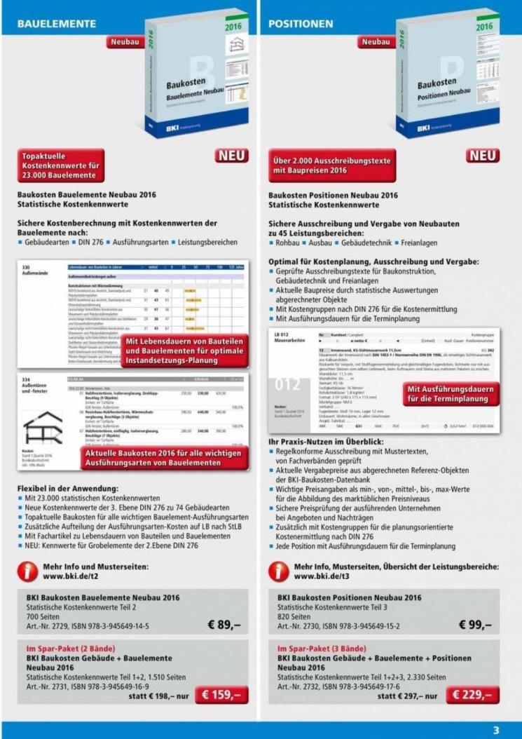 Baukosten Pro M3 Umbauter Raum 2017  Wohndesign von Baukosten Pro M3 2015 Bild