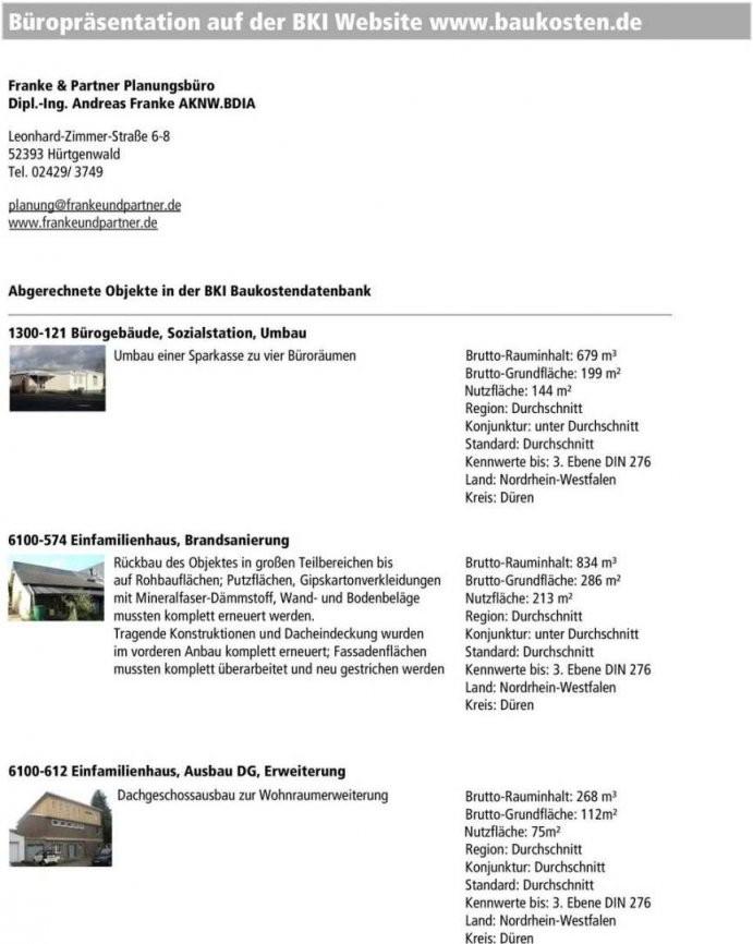 Baukosten Pro M3 Umbauter Raum 2017  Wohndesign von Baukosten Pro M3 2015 Photo