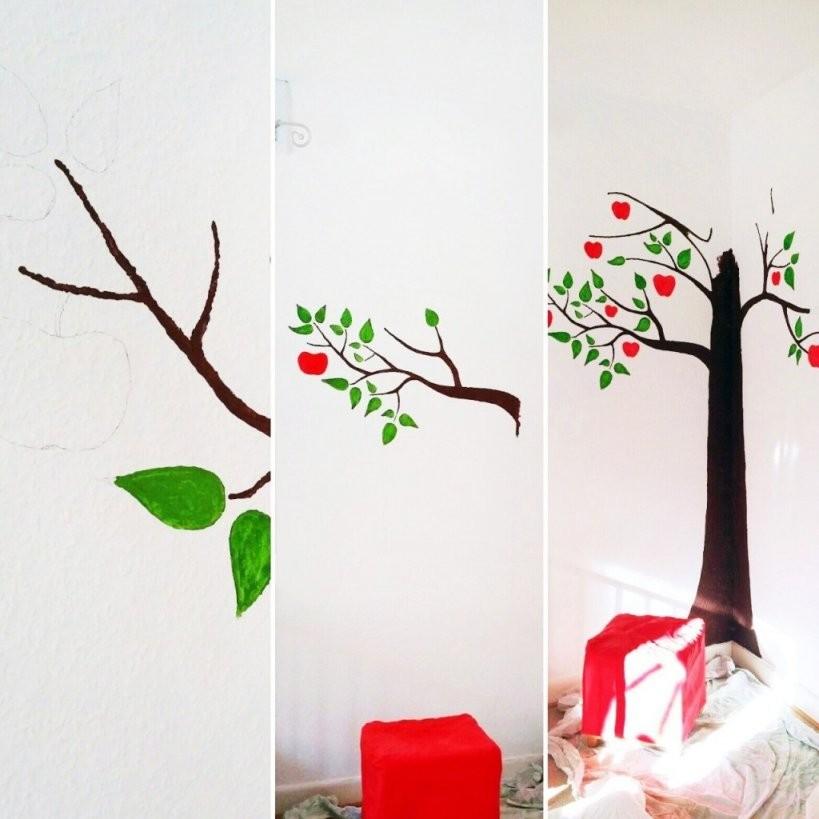 Baum Wand Malen – Onlygood von Babyzimmer Wände Gestalten Malen Motiv Vorlagen Photo