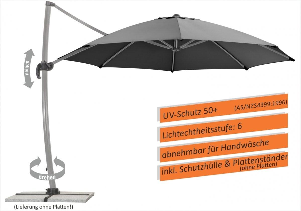 Baumarkt Göllnitz Onlineshop  Schneider Classics Ampelschirm von Schneider Ampelschirm Rhodos Rondo Photo