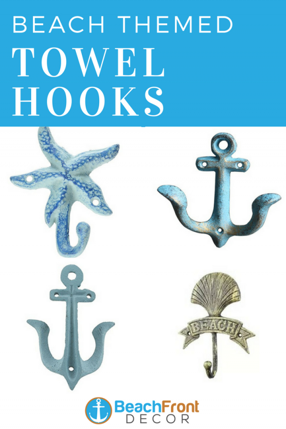 Beach Wall Hooks And Beach Towel Hooks  Beach Wall Hooks  Towel von Beach Themed Towel Hooks Bild
