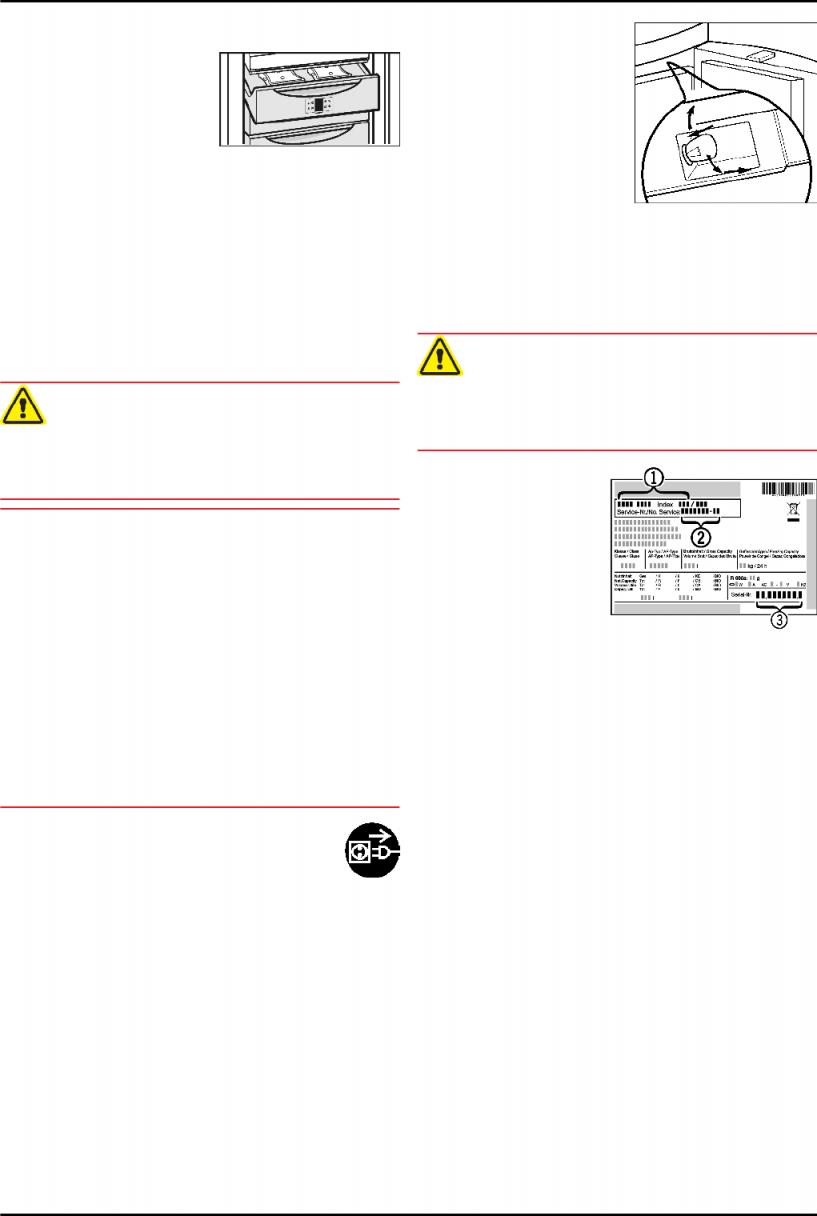 Bedienungsanleitung Liebherr Gnp 3666 (Seite 10 Von 12) (Deutsch) von Liebherr Gefrierschrank Gnp 3666 Bild